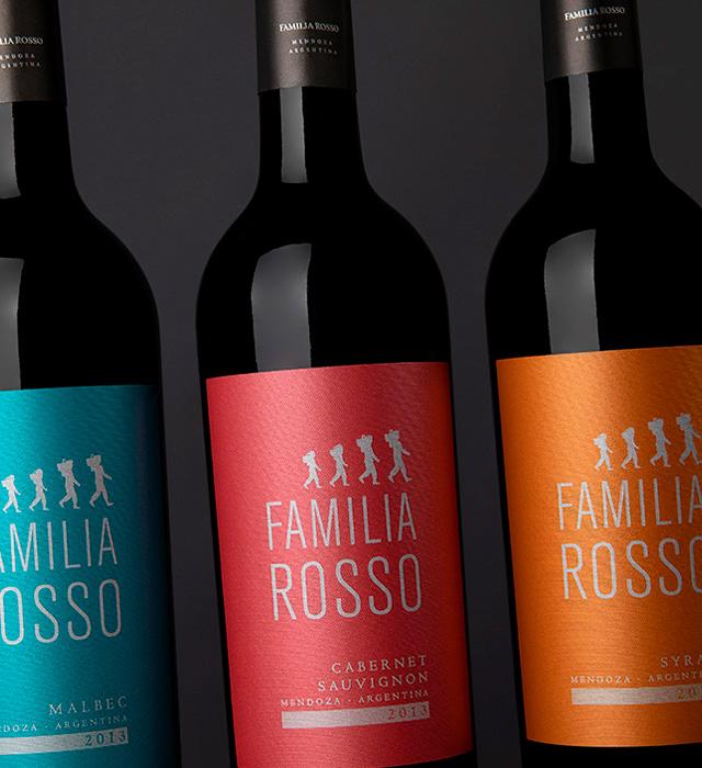 Etiquetas para Familia Rosso